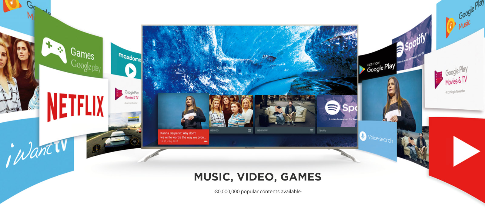 4k G2 Series - Android TV - Skyworth Group